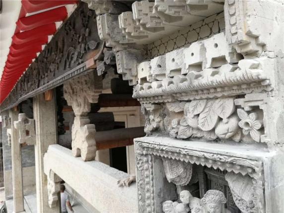 江门石雕构件